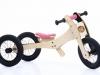 Trybike wood pink 1